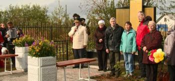 Новый обелиск Победы появился в деревне Андег