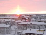 Солнце над горизонтом. _1